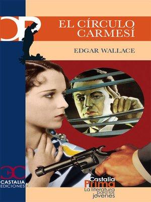 cover image of El círculo carmesí