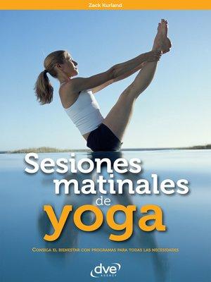 cover image of Sesiones matinales de yoga
