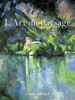cover image of L'Art du paysage