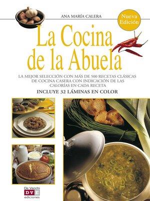 cover image of La cocina de la abuela