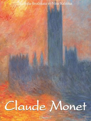 cover image of Claude Monet, Volume 1