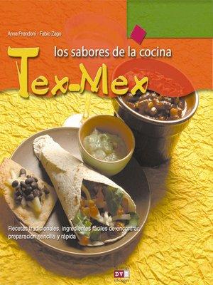 cover image of Los sabores de la cocina tex-mex