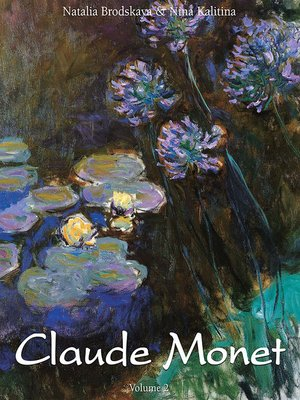 cover image of Claude Monet, Volume 2