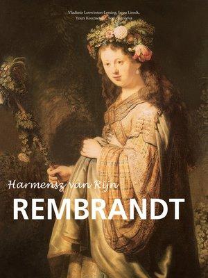cover image of Harmensz van Rijn Rembrandt