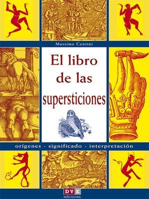 cover image of El libro de las supersticiones
