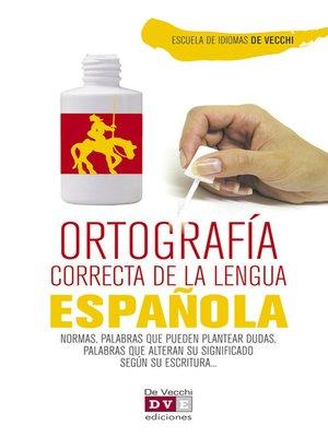 cover image of Ortografía correcta del español
