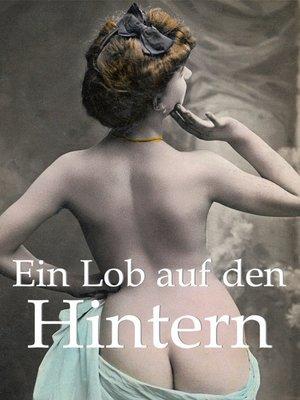 cover image of Ein Lob auf den Hintern