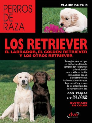 cover image of los retriever el labrador, el golden retriever y los otros retriever