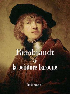 cover image of Rembrandt et la peinture baroque