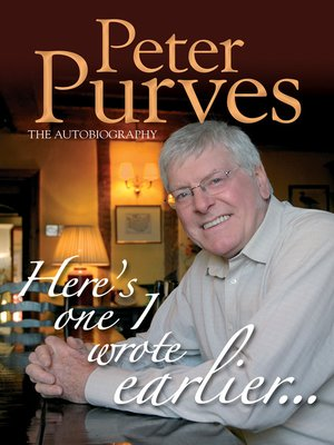 cover image of Peter Purves: The Autobiography