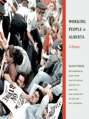 cover image of Working People in Alberta