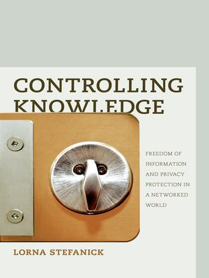 cover image of Controlling Knowledge