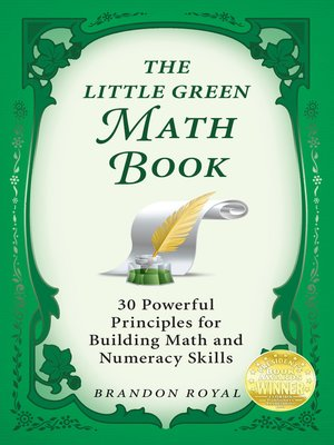 cover image of The Little Green Math Book