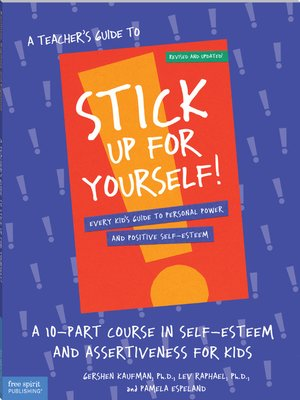 cover image of A Teacher's Guide to Stick Up for Yourself