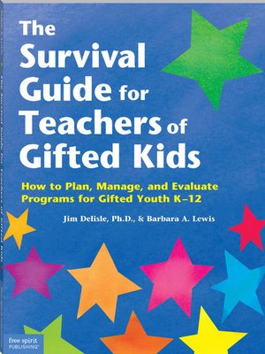 cover image of The Survival Guide for Teachers of Gifted Kids