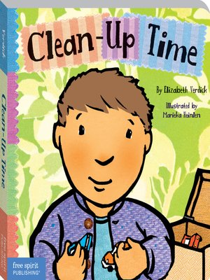 cover image of Clean-Up Time