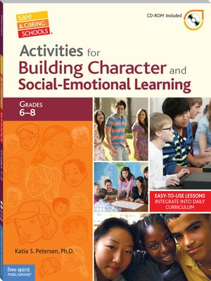 cover image of Activities for Building Character and Social-Emotional Learning Grades 6-8