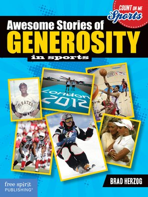 cover image of Awesome Stories of Generosity in Sports