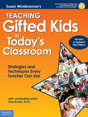 cover image of Teaching Gifted Kids in Today's Classroom