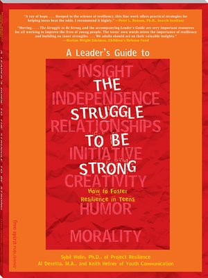cover image of A Leader's Guide to The Struggle to Be Strong