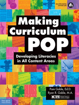 cover image of Making Curriculum Pop