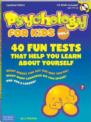 cover image of Psychology for Kids, Volume 1