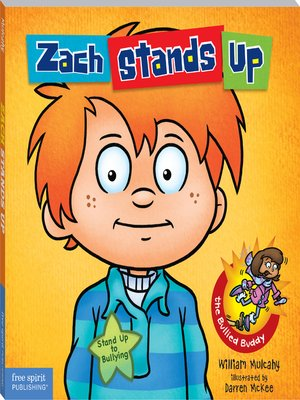 cover image of Zach Stands Up