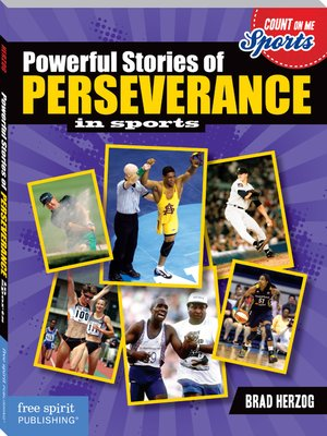 cover image of Powerful Stories of Perseverance in Sports