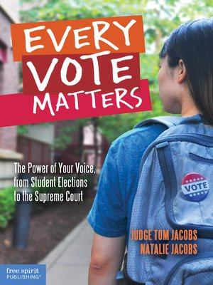 cover image of Every Vote Matters