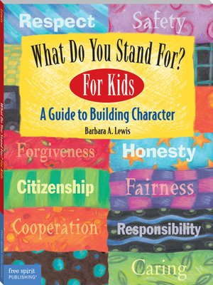 cover image of What Do You Stand for? For Kids