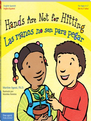 cover image of Hands Are Not for Hitting/Las manos no son para pegar