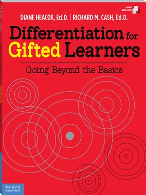 cover image of Differentiation for Gifted Learners