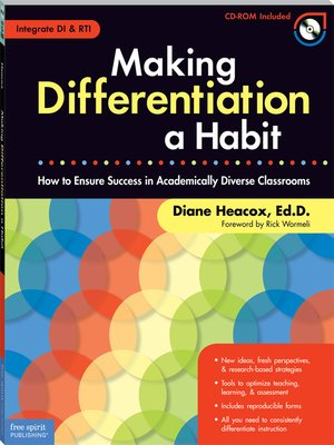 cover image of Making Differentiation a Habit