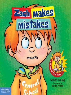 cover image of Zach Makes Mistakes