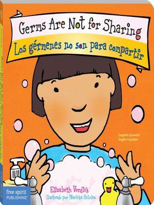 cover image of Germs Are Not for Sharing / Los gérmenes no son para compartir