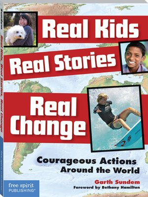 cover image of Real Kids, Real Stories, Real Change