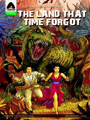 cover image of The Land That Time Forgot