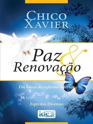 cover image of Paz e Renovação