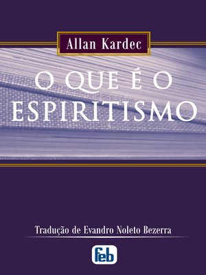 cover image of O Que é o Espiritismo