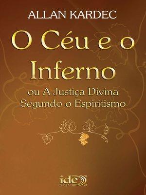 cover image of O Céu e o Inferno
