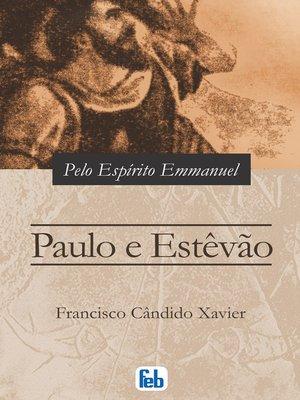 cover image of Paulo e Estêvão