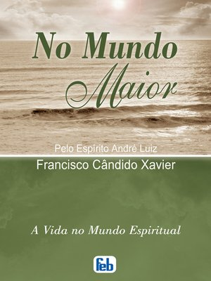 cover image of No Mundo Maior