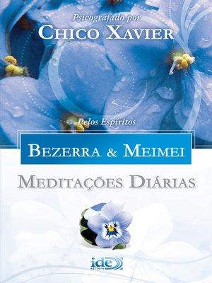cover image of Meditações Diárias