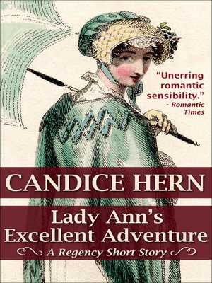 cover image of Lady Ann's Excellent Adventure
