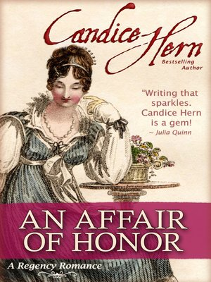 cover image of An Affair of Honor
