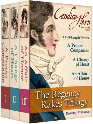 cover image of The Regency Rakes Trilogy