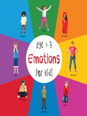 cover image of Emotions for Kids age 1-3
