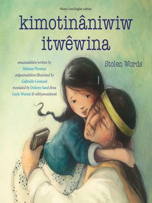 cover image of kimotinâniwiw itwêwina / Stolen Words