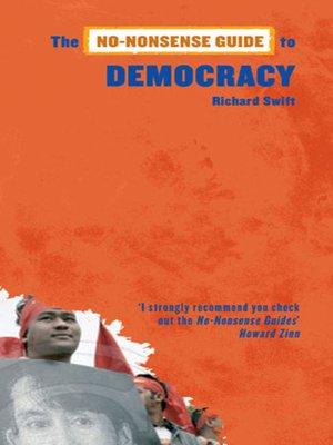 cover image of No-Nonsense Guide to Democracy