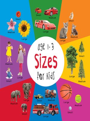 cover image of Sizes for Kids age 1-3